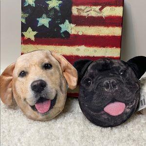New Adorable puppy dog change purse set